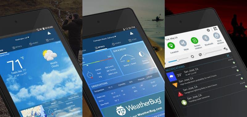 Tecnología| Conocé las mejores app para saber cómo estará el clima